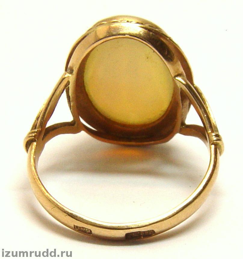 кольца 16 размер золотое