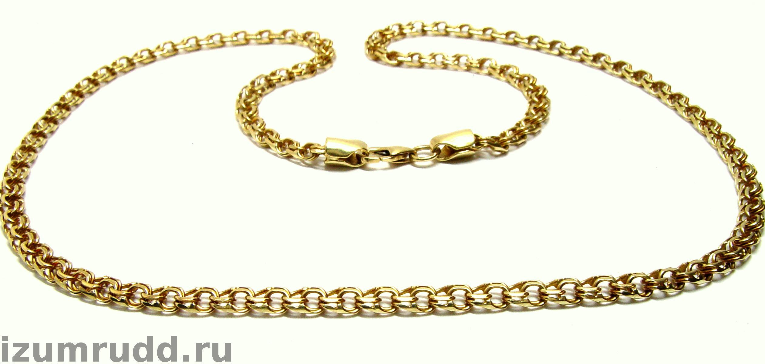 Золотые цепочки плетение бисмарк фото 6