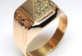 Мужские кольца печатки 9ddf13b1f17